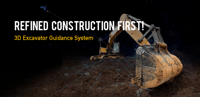 FJD 3D Excavator Guidance System, Bringing Accuracy and Safety to Refined Constructi